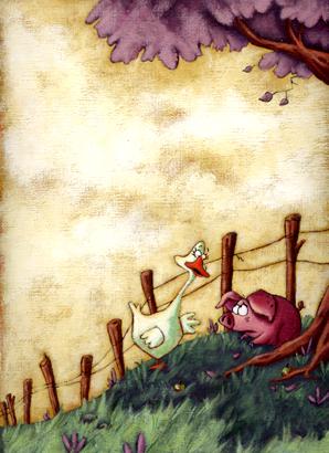 Les cochons ne volent pas, éd. Kaléidoscope